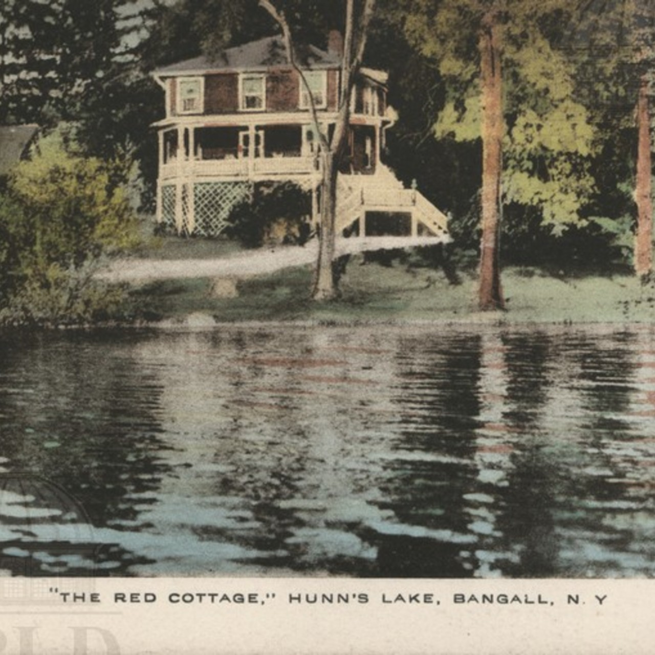 """The Red Cottage"" Hunn's Lake"