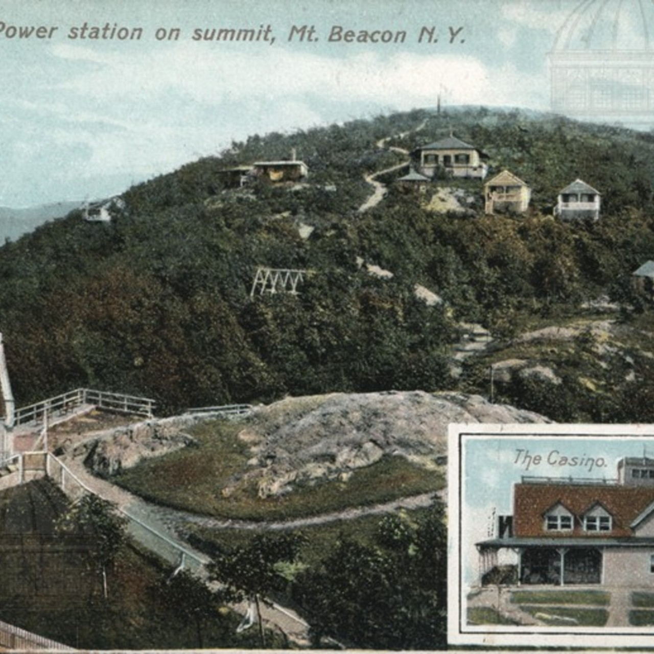 Cottages & Power Station on Summit, Mt. Beacon