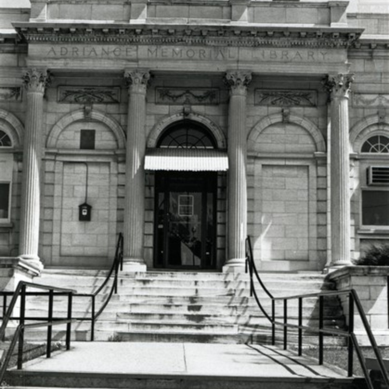 View of Front Entrance