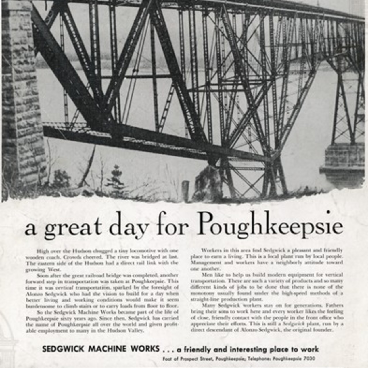 """A Great Day for Poughkeepsie"""