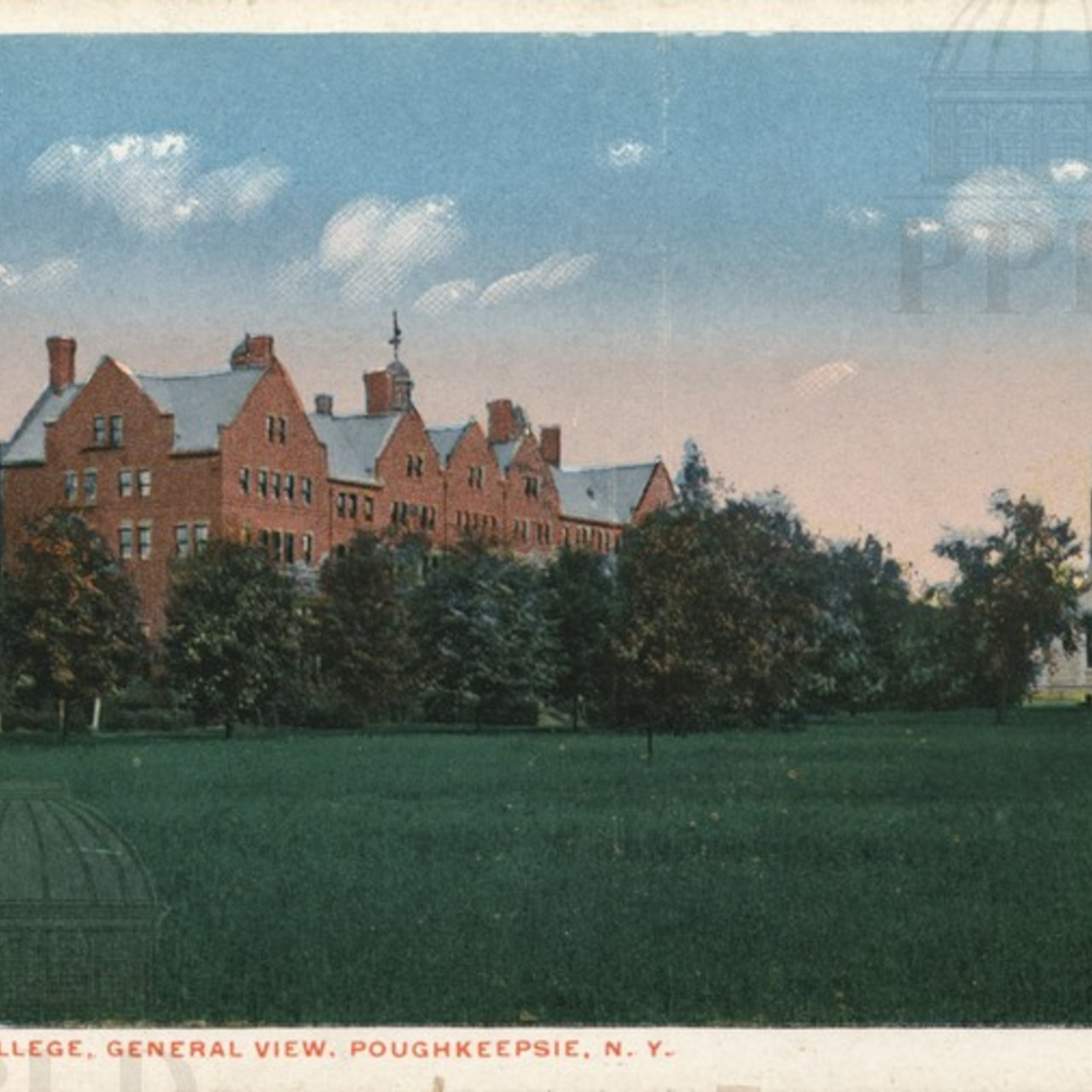 Vassar College, General View