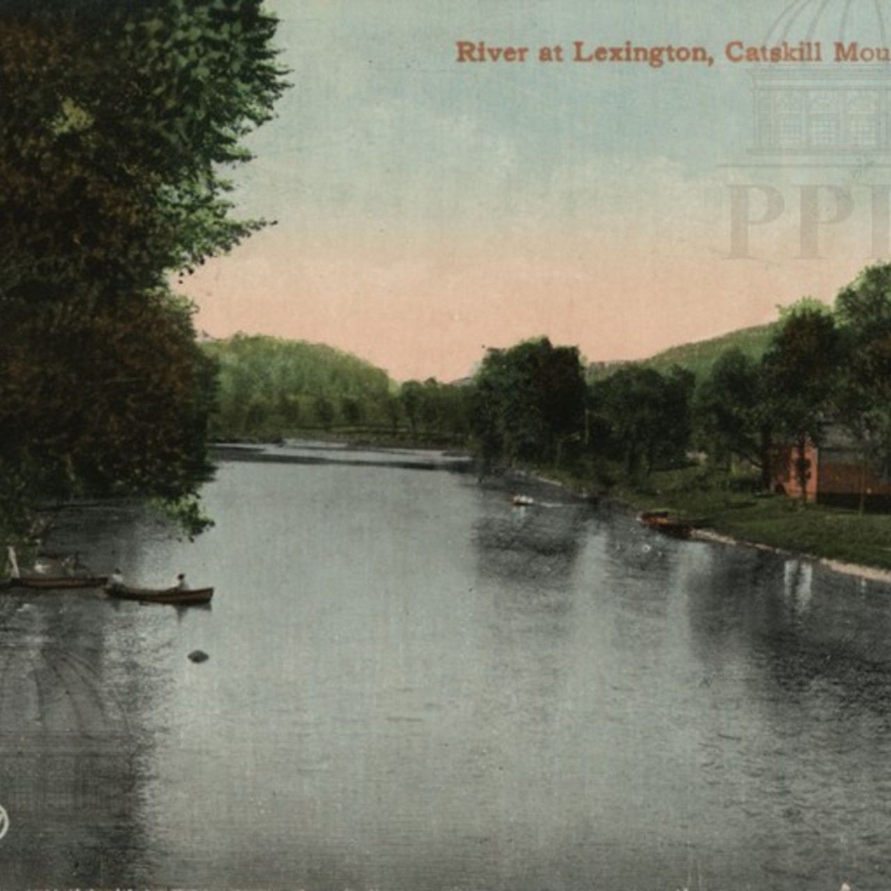 River at Lexington, Catskill Mountains